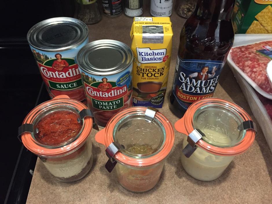 Ready to make chili